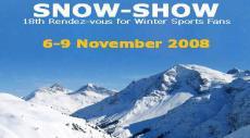 Международная выставка зимних видов спорта SNOW-SHOW 2008