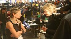Ольга Бибик на соревнованиях в Гостином дворе в 2007 году