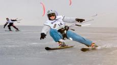 Завершились соревнования по сноукайтингу в Тольятти.