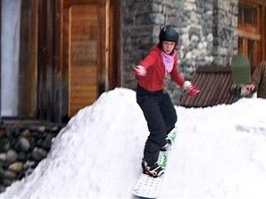 сноубординг в Японии